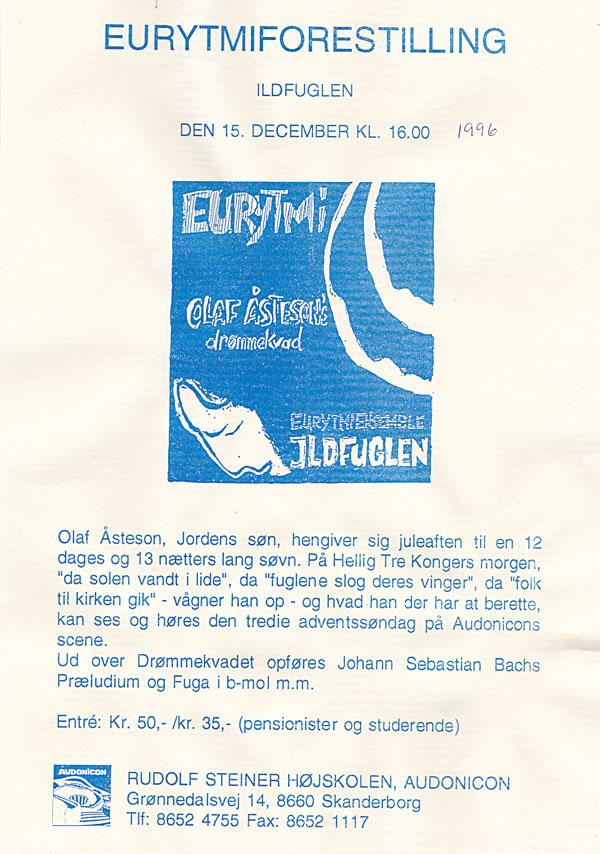 Olaf Åstesson's drømmekvad 1996