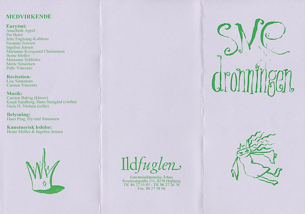 Snedronningen program 1996
