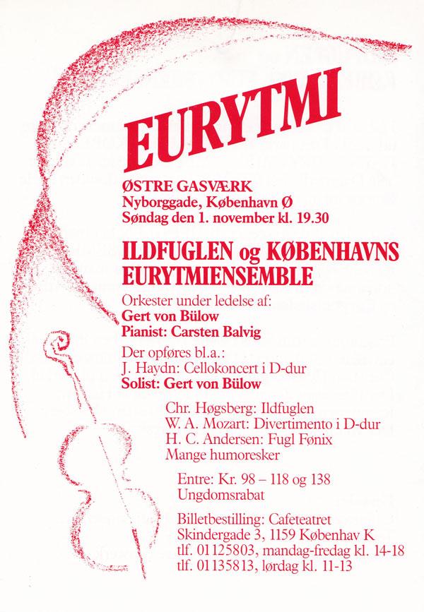 Forestilling i København 1987