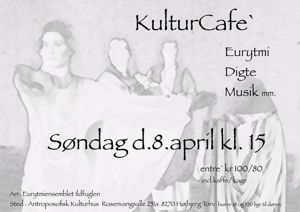 Kulturcafé 8 april 2018