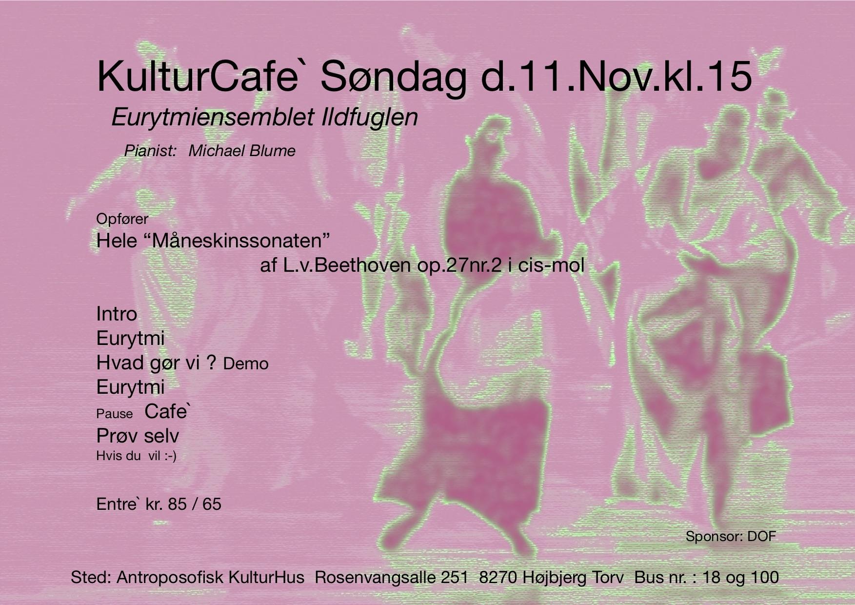 Kulturcafé 11 nov. 2018